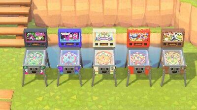 Animal Crossing New Horizon Pinball Machine Set