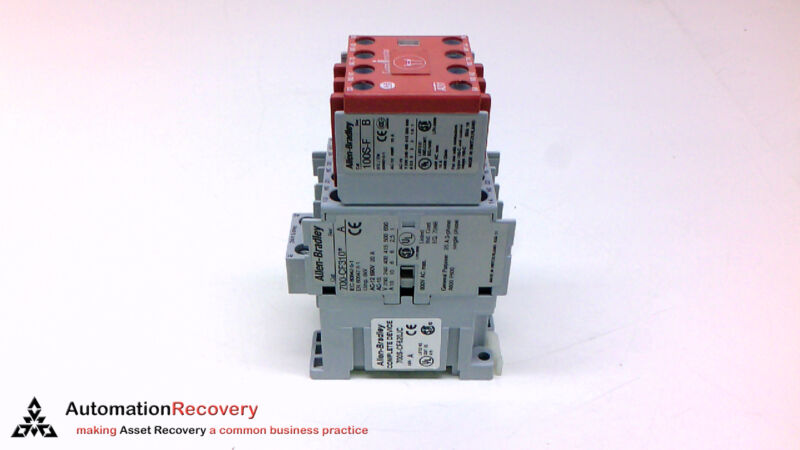 Allen Bradley 700s-cf620jc Series A Safety Control Relay 8p 24vdc 60hz,  #211312