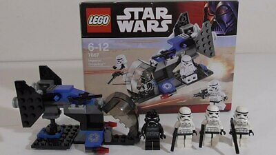 LEGO STAR WARS 7667 IMPERIAL DROPSHIP COMPLETE W INSTRUCTIONS Storm Trooper mini