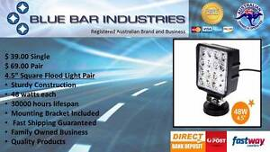 """2 Pack of 4.3"""" Square 48 watt  Flood Lights Caboolture Caboolture Area Preview"""