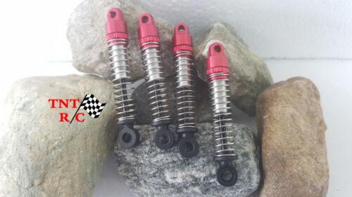 All 4pcs Aluminum Shocks for Hobby Plus 1/24 CR24 & 1/18 CR18 rock crawler F/S!!
