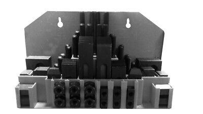 WABECO Spannpratzen Satz 58-teilig f/ür T-Nutenbreite 12 mm Gewinde M10 T-Nutensteine Spanneisen Spannwerkzeug