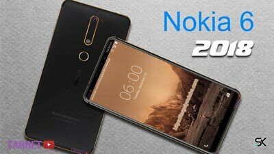 "New *UNOPENED* Nokia 6.1 2018 32/64GB 5.5"" ANDROID GLOBAL UNLOCKED Smartphone"