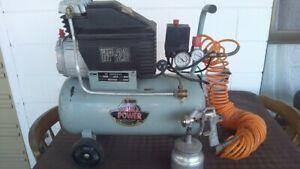 2HP 240v Air Compressor.
