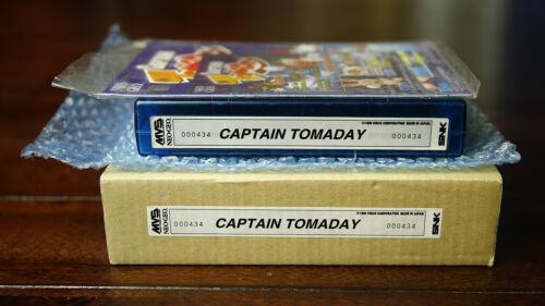 Captain Tomaday MVS Kit by Visco •Neo Geo JAMMA Arcade • SNK ~ Shooter Shmup