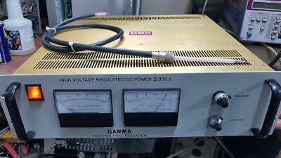 Gamma High Voltage Research Hv Power Supply Pr10-15nm615 Probe Included
