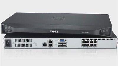 Dell PowerEdge KVM 1081AD 1081 AD 8 Port IP Remote Server Console Switch