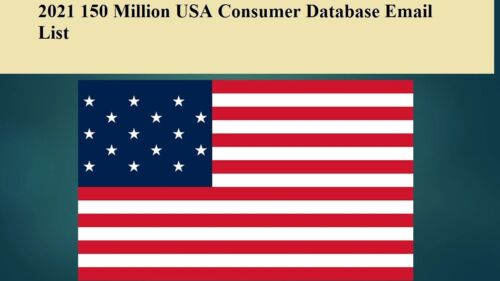150 Million 2021 Latest USA Consumer Database Sales Leads Email list Marketing