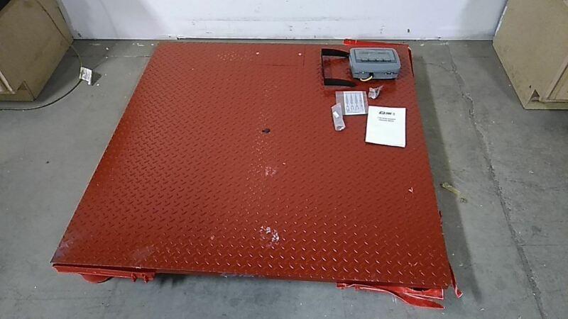 B-Tek BT-F-4848-4S-I 104 to 240VAC 48x48 In Digital Display Floor Scale