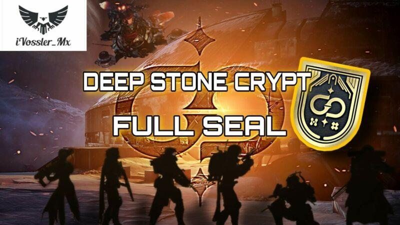 Full seal Deep Stone Crypt Raid [PS4]