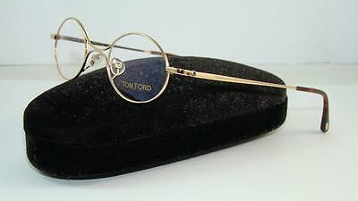 0efed2b48ebe Special Addition TOM FORD TF 5172 028 GOLD ROUND Reading Glasses Eyeglasses  S 40