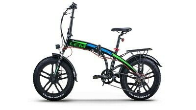 E-Bike Lem Motor Miami Luxury Pieghevole 250W 36V Batteria a Litio Con...