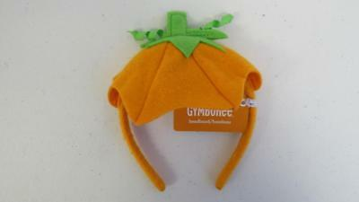 GYMBOREE Halloween Fall Pumpkin Headband Hair Accessory One Size NEW w/Tags - Halloween Pumpkin Headbands