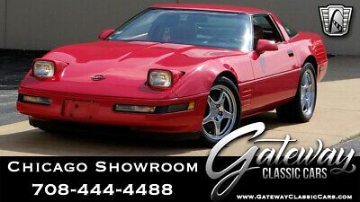 1991 Chevrolet Corvette  Red 1991 Chevrolet Corvette Coupe 355 CID V8    F OHV 6 Speed Manual Available N