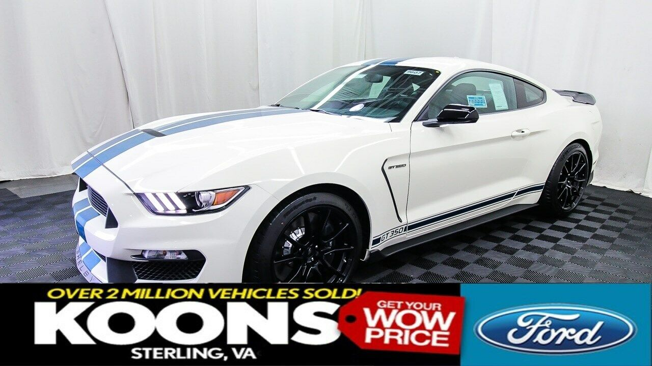 VERY RARE HERITAGE PACKAGE SHELBY GT350, WIMBLEDON WHITE, TECHNOLOGY, HANDLING