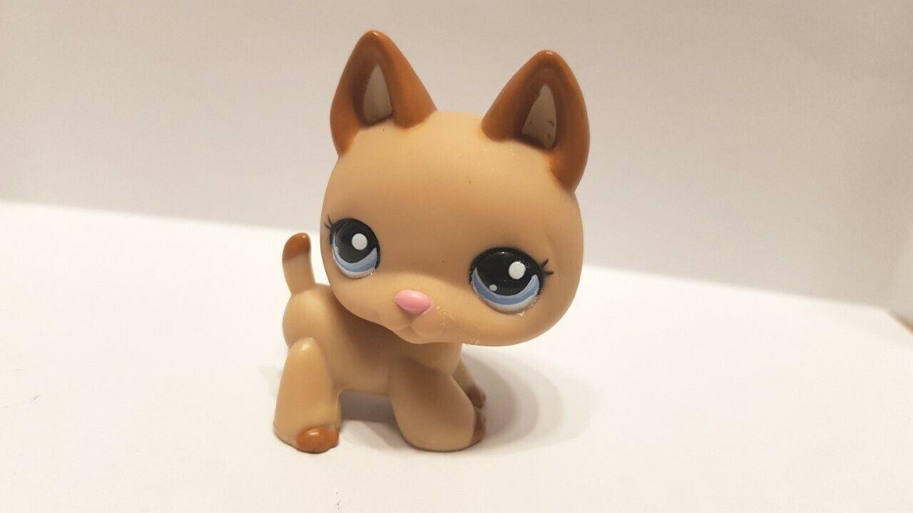 Figurine  petshop  original chien dog berger allemand 2196  pet shop lps