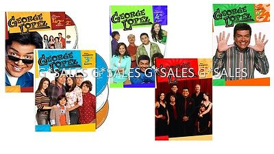 George Lopez Complete Tv Series Season 1 6  1 2 3 4 5 6  Brand New Dvd Set
