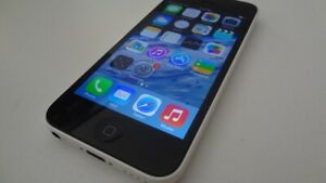 iPhone 5C White 8gb bell