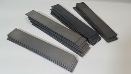 """1095 Hot Rolled Carbon Steel 1/8"""" x 2"""", 12"""" bar, Knife Making Stock, Billet"""