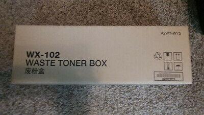 - Lot of 3  NEW KONICA MINOLTA WASTE TONER BOX WX-102, A2WY-WY5, Genuine
