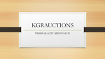KGRAUCTIONS