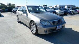 2006 Mercedes-Benz C-Class W203 MY2006 C180 Kompressor Classic Gold 5 Speed Automatic Sedan