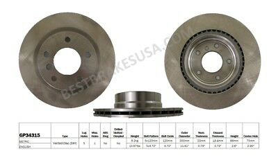 Disc Brake Rotor fits 2006-2011 BMW 328i 325i  BEST BRAKES
