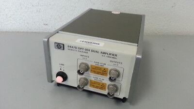 Keysightagilenthp 8447d Rf Amplifier 100 Khz -1.3 Ghz Opt 001