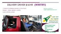 DELIVERY DRIVERS - WHITBY