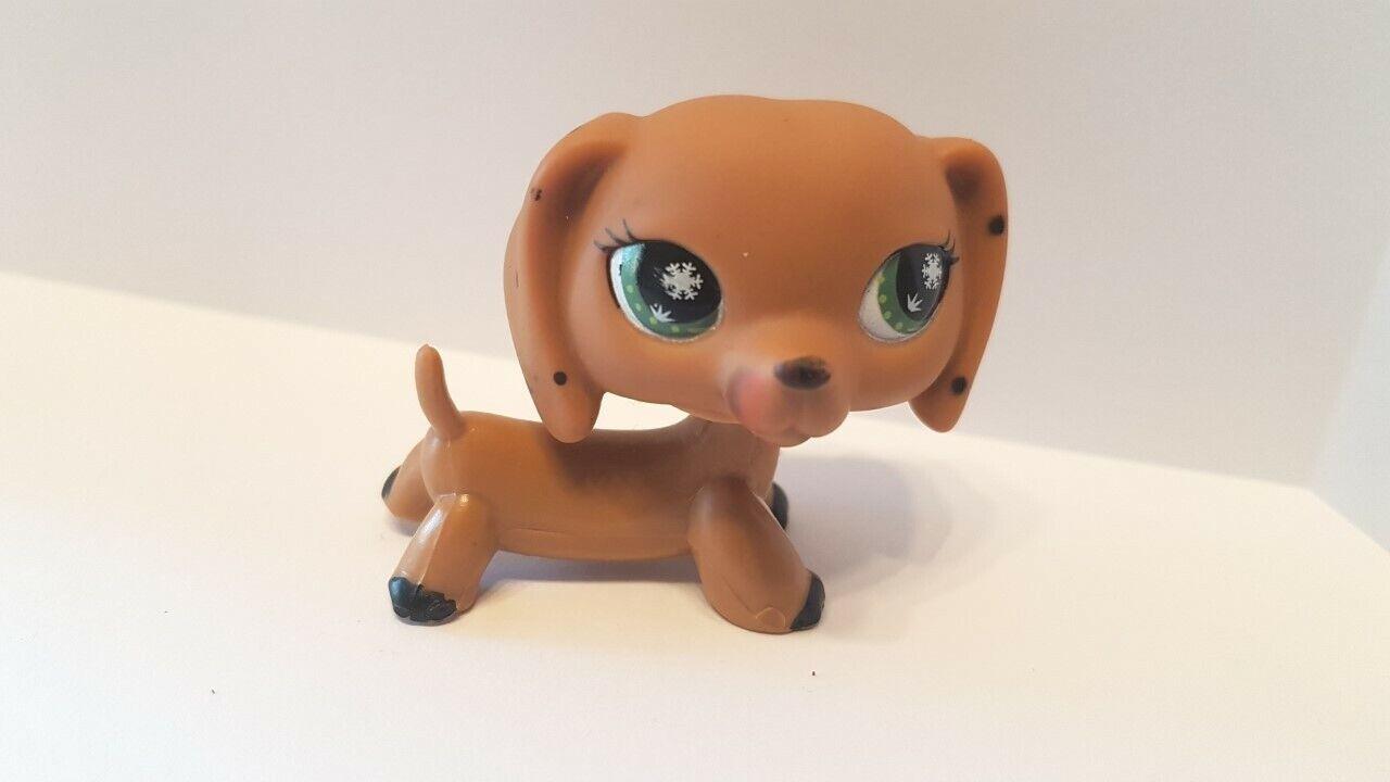Figurine petshop  original chien dog teckel daschund monopoly  pet shop (3 )