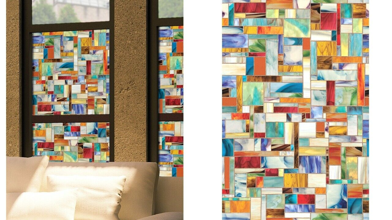 Window Film Artscape Montage 24 by 36 inches Textured Glass