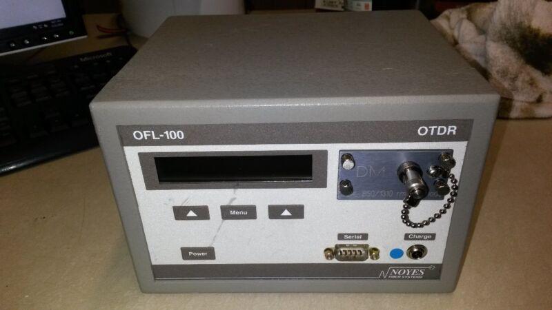 USED NOYES OFL 100 DM OTDR Optical Time Domain Reflectometer MODEL: OFL100-DM-ST