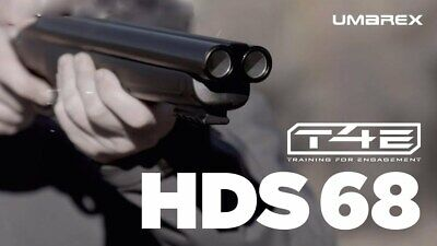 SET Umarex T4E HDS 68 Home Defense Shotgun + 20 x HWSC Mun. + 5 x Co2 Kapseln
