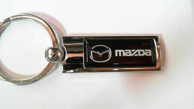 Mazda Rx8 Luxus Leder Schlüsselanhänger Schlüsselring Porte-Clés Evolve