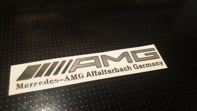 AMG Edition Chrom Mercedes Aufkleber logo alu AMG sticker embleme