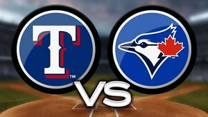 Blue Jays vs Texas Rangers - 5 Rows From Field Sunday $60