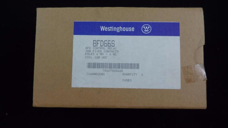WESTINGHOUSE BFD66S BFD Control Relay 766A002G01
