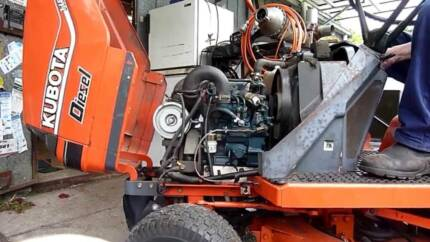 Kubota T1600 Diesel Wrecking Z482 Ride on Mower