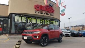 2018 Jeep Compass Trailhawk NAVI PANO ROOF LEATHER