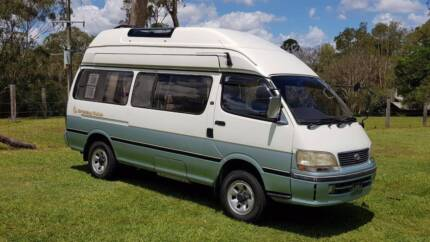 1997 4WD Toyota Hiace Extra LWB Extra High Roof Turbo Diesel Auto