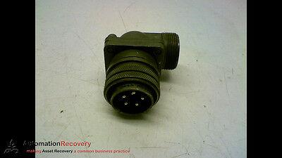 Amphenol Ms3108a20-17p 90 Connector 6 Pin 159827