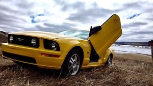 Mustang Convertible w/ Vertical Doors