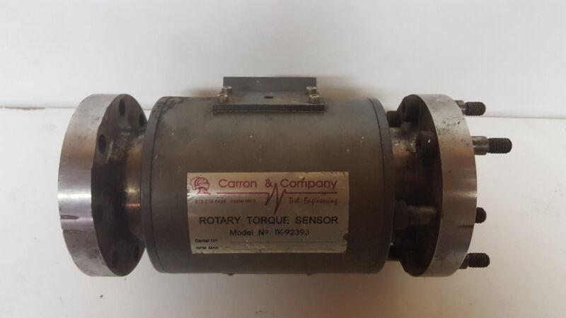 Rotary Torque Sensor TK-92393 RPM 4000 max