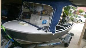 Dunbier Trailer and  Boat 3.4m Excellent Condition Ingle Farm Salisbury Area Preview