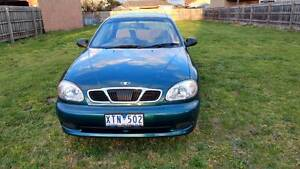 2001 Daewoo Lanos Sedan Thomastown Whittlesea Area Preview