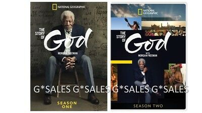 The Story Of God With Morgan Freeman Complete Season 1 2  1   2  New Dvd Set