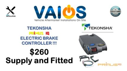 ELECTRIC BRAKE CONTROLLER  $260 SUPPLY AND FITTED