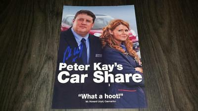 "CAR SHARE PP SIGNED PHOTO POSTER A4 12X8"" AUTOGRAPHED PETER KAY"