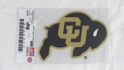 University Of Colorado Buffaloes (NEW 2 University of Colorado CU Buffaloes Xstatic Clings Decal 4 1/2