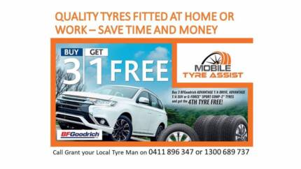 BF Goodrich Tyres - BUY 3 GET 1 FREE